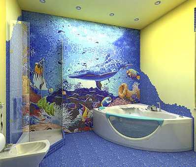 łazienka o charakterze morskim