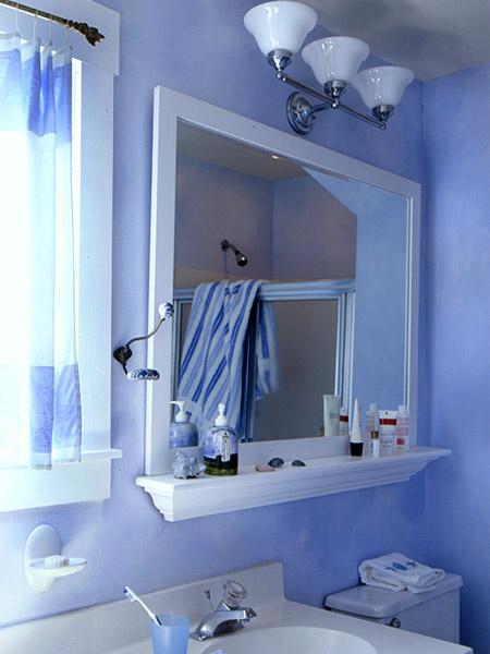 typowa łazienka zimowa